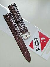 Cinturino di qualità testa moro vera pelle mod.vintage correa montre 18 mm watch