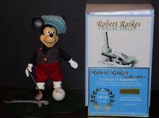 ROBERT RAIKES MICKEY MOUSE GOLFER WALT DISNEY WORLD CONVENTION LIMITED EDITION