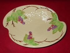WADE ENDLAND BRAMBLE DISH APPROXIMATELY 9 3/4 INCHES BY 7 INCHES