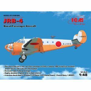 Icm Icm48184 Beechcraft Jrb-4 1/48