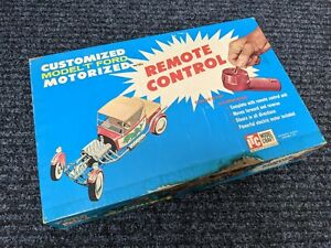 """ITC IDEAL MODEL """"T"""" FORD Motorized w/ REMOTE  VINTAGE ORIGINAL Made in USA 1961"""