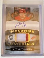 2018-19 UD The Cup Anthony Mantha Signature Materials patch auto #'d 12/99 🔥