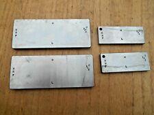 Machinists 12 Degree Flat Angle Blocks 2 Pairs