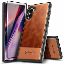 For SAMSUNG GALAXY Note 10 / Note 10 Plus Phone Case Shockproof Leather Cover