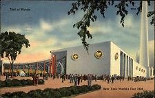 New York City America USA AK 1939 Hall of Metals Stamp Brooklyn gel. n. Ruttloff