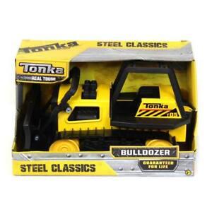 Tonka Retro Classic Steel Bulldozer Construction Toy 92961