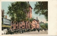 SARATOGA NY – Convention Hall – udb – 1907