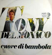 """TONY DEL MONACO cuore di bambola 7"""" io non ci penso più  ITALY 1970"""