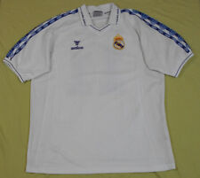 Real Madrid C.F. Football Shirt White Blue Mesh Soccer Jersey Walon Erick 11 XL