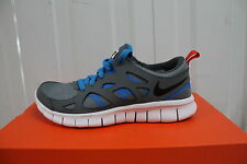 NIKE FREE RUN 2 GREY BLUE RUNNING TRAINERS 443742-094