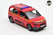 CITROËN BERLINGO 2020 - Van Sapeurs pompiers VL SDIS France - 1/43 NOREV 155764