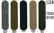 Combat Helmet Adhesive 5 Piece Loop Kit - ACH MICH FAST Maritime ECH LWH PASGT