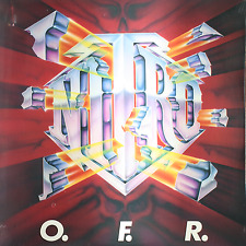 O.F.R. - Nitro  - SEALED BRAND NEW 1989 Rhino Records Heavy Metal LP OFR Rampage