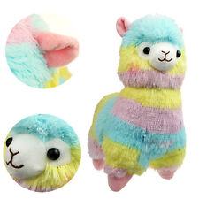 """7"""" Rainbow Cute Alpacasso Alpaca Llama Arpakasso Weiche Plüschtiere Plush Toy"""