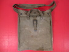 WWII USMC 5 Gallon Collapsible Water Bladder Canteen & Canvas Carry Bag - 1945