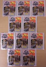 Jurassic World Fallen Kingdom ~ Panini Sticker Collection ~ 10 x Sealed Packs