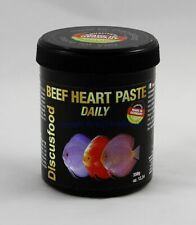 Beef Heart Paste Daily 350g Discusfood Alleinfutter für alle Diskus 85,57€/kg