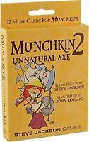 Munchkin Espansione 2 Unnatural Ascia Gioco Carte