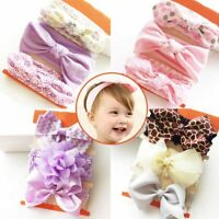 Lot Newborn Baby Kid Girl Headband Toddler Flower Hair Band Accessories Headwear