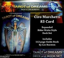 Ciro Marchetti Tarot Of Dreams Lenormand 83 Card Book Set Wicca Magick Pagan NEW