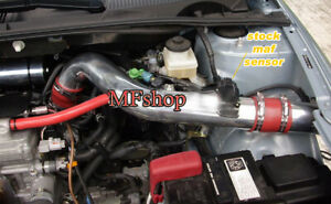 Red For 2007-2010 Scion tC Coupe 2.4L L4 Cold Air Intake System Kit + Filter