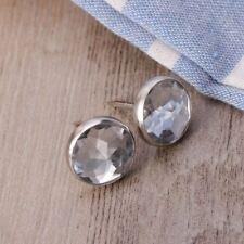 100X 16.8mm Crystal Head Upholstery Nails Tacks Decorative Sofa Furniture Tacks