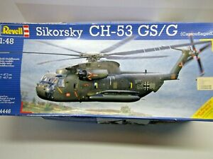 Revell 1:48 Scale Sikorsky CH-53 GS/G Helicopter Model Kit - Kit # 04446