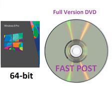 Windows 8.1 Professional 64-Bit + Bootable Installation DVD Full Version PRO 8