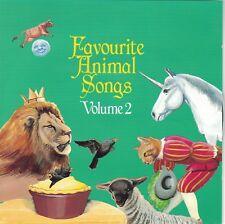 Favorite Animal Songs Volume 2 (CD)