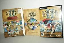 EMPIRE EARTH II COLLECTION EDIZIONE LIMITATA USATO PC CDROM VER ITA FR1 38894