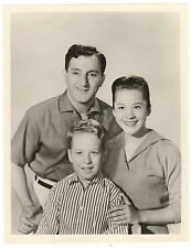 Danny Thomas Show w/ Danny, Rusty Hamer, Sherry Jackson 7x9 TV photo 1957