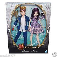 Disney Descendants 2 Pack Mal Isle of the Lost Ben Auradon Dolls worldwide ship