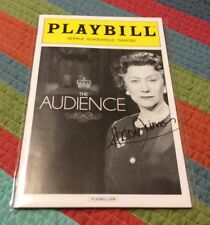 Helen Mirren Signed Auto Autographed Broadway Playbill The Audience March 2015