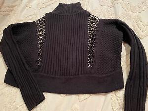 Sass & bide Crop knit Jumper, Size S.