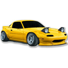 Miata 90-97 Mazda full wide body kit Front Lip Fender Wing fiberglass GT-180FLK