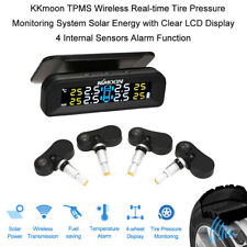 KKmoon TPMS Tire Pressure Monitoring System LCD Display with 4 Internal Sensors