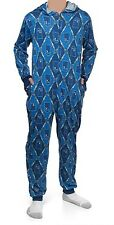 DOCTOR WHO Argyle Tardis Screwdriver Lounger JUMPSUIT S-M Authentic *NEW* SALE