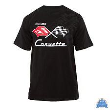 Corvette T-Shirt - Corvette since 1953 - Schwarz - lizensiert