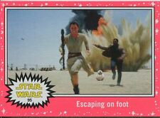 Star Wars JTTFA Neon Parallel Base Card #95 Escaping on foot