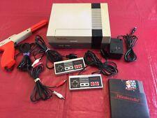 Nintendo Entertainment System Original NES 001 Bundle - Zapper Super Mario Bros