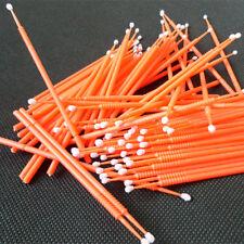300pcs Disposable MicroBrush Applicator Supply Large Size Orange color