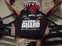 JR HILDEBRAND NATIONAL GUARD INDYCAR SPARCO TEAM RACE USED FIRESUIT 2ND PLACE