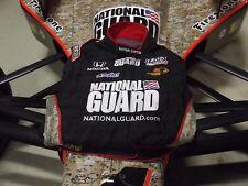 JR HILDEBRAND NATIONAL GUARD INDYCAR SPARCO TEAM RACE USED FIRESUIT 2ND PLACE