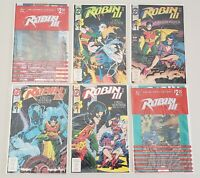 ROBIN III CRY OF THE HUNTRESS PARTS ONE THRU SIX DC COMICS 1993