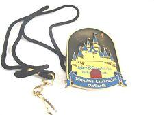 "Pin Trading Disney China 2005 ~ 18"" Lanyard ~ ""Happiest Celebration On Earth"""