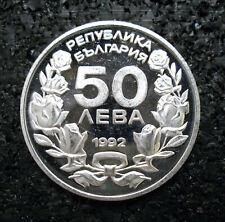 50 Leva Bulgarien Bulgaria 1992 Lillehammer 1994 (ut20n708)