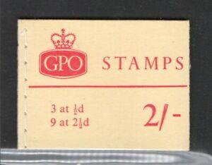 GREAT BRITAIN 1960 20 BOOKLETS 2/- HARRISON & SONS LTD. LONDON