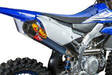 FMF Factory 4.1 RCT Slip-On Blue Muffler Carbon Cap Yamaha YZ450F 2018 044445