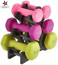 Women Gym Exercise Training Hand Weights Dumbbells Set Workout Fitness 20lb NEW
