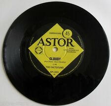 """The Factotums Cloudy rare Import 60s 7"""" 45rpm Record Single British Rock Pop"""